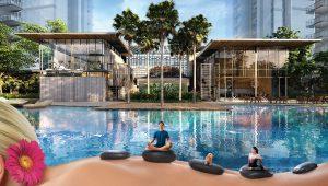 Treasure At Tampines 悦湖苑 clubhouse swimming pool