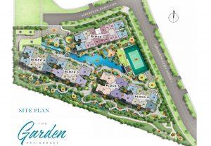 Treasure At Tampines condo site plan
