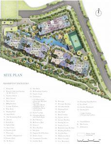 Treasure At Tampines condo site plan and facilities