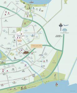 Treasure At Tampines 聚宝园 location map amenities