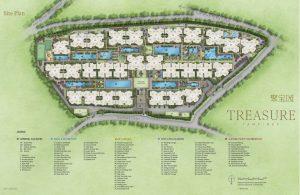 Treasure At Tampines 聚宝园 site plan