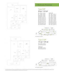 Treasure At Tampines floor plan example