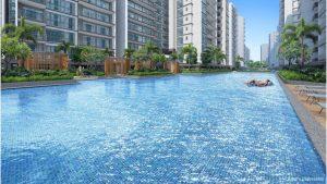 Treasure At Tampines 聚宝园 lap pool